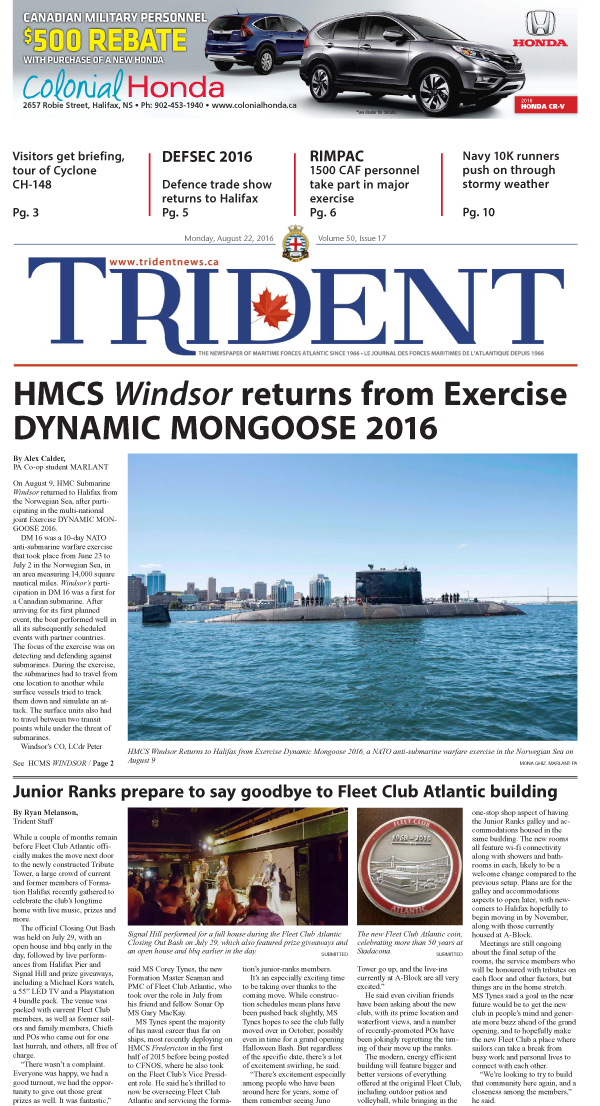 Volume 50, Issue 17, August 22, 2016