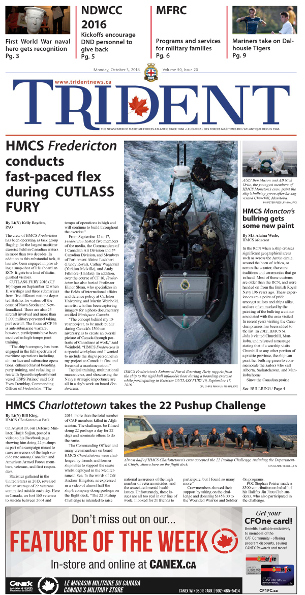 Volume 50, Issue 20, October 3, 2016