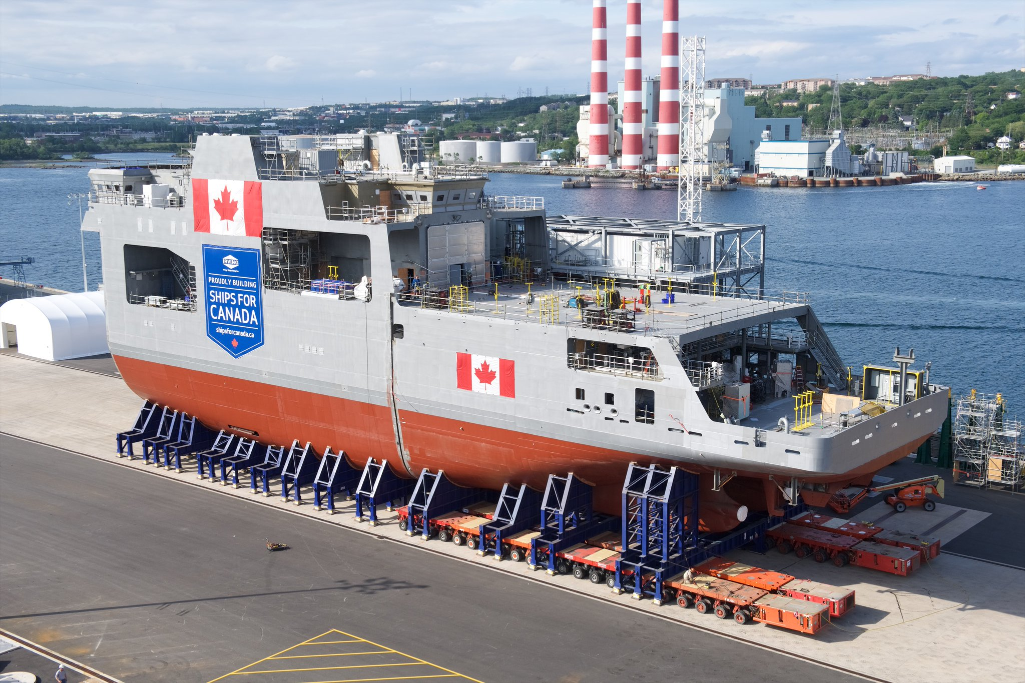 HMCS Harry DeWolf reveal