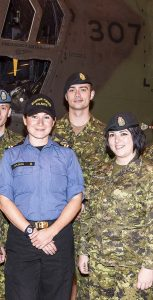 From hosting executives and VIPs, daily briefings to higher headquarters, gathering still and video imagery, producing videos and social media posts, and coordinating embedded media, the Public Affairs team put in long days during OP NANOOK. Photo: Mona Ghiz, MARLANT PA