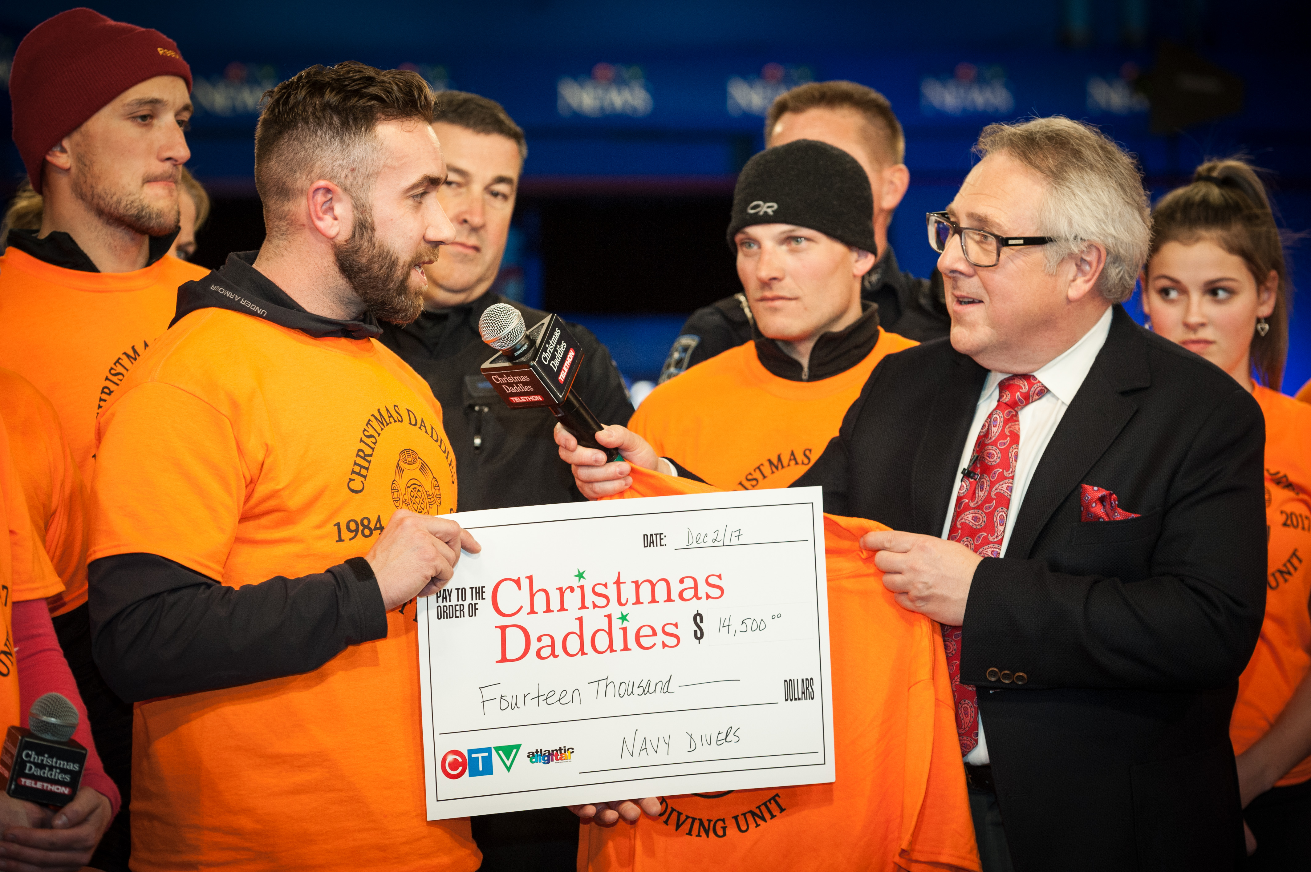 FDU(A) supports Christmas Daddies