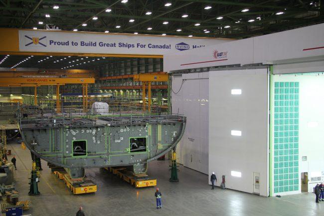 Photo: Irving Shipbuilding