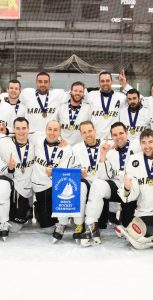 The CFB Halifax Mariners men's team were gold-medal winners at the CAF Atlantic Regional Hockey Championship, held from February 5-9 at the Shearwater Arena. Photo: RYAN MELANSON, TRIDENT STAFF