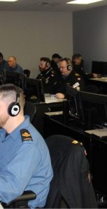 While attempting to increase the realism of training scenarios and finding ways to efficiently reconstruct synthetic training serials both in simulators and at sea, NTDC(A) took advantage of a particular Maritime Evaluation that was conducted with the RCN Distributed Mission Operations Center (DMOC) in December 2017. Photo: submitted