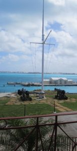 The view from the Commissioner's House, Royal Naval Dockyard, Bermuda.  Photo: LEN CANFIELD