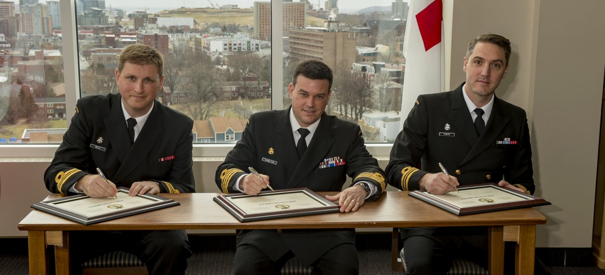 HMCS Oriole change of command