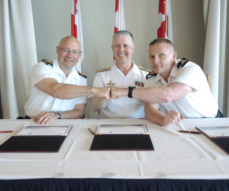 Base Chief heads to Esquimalt