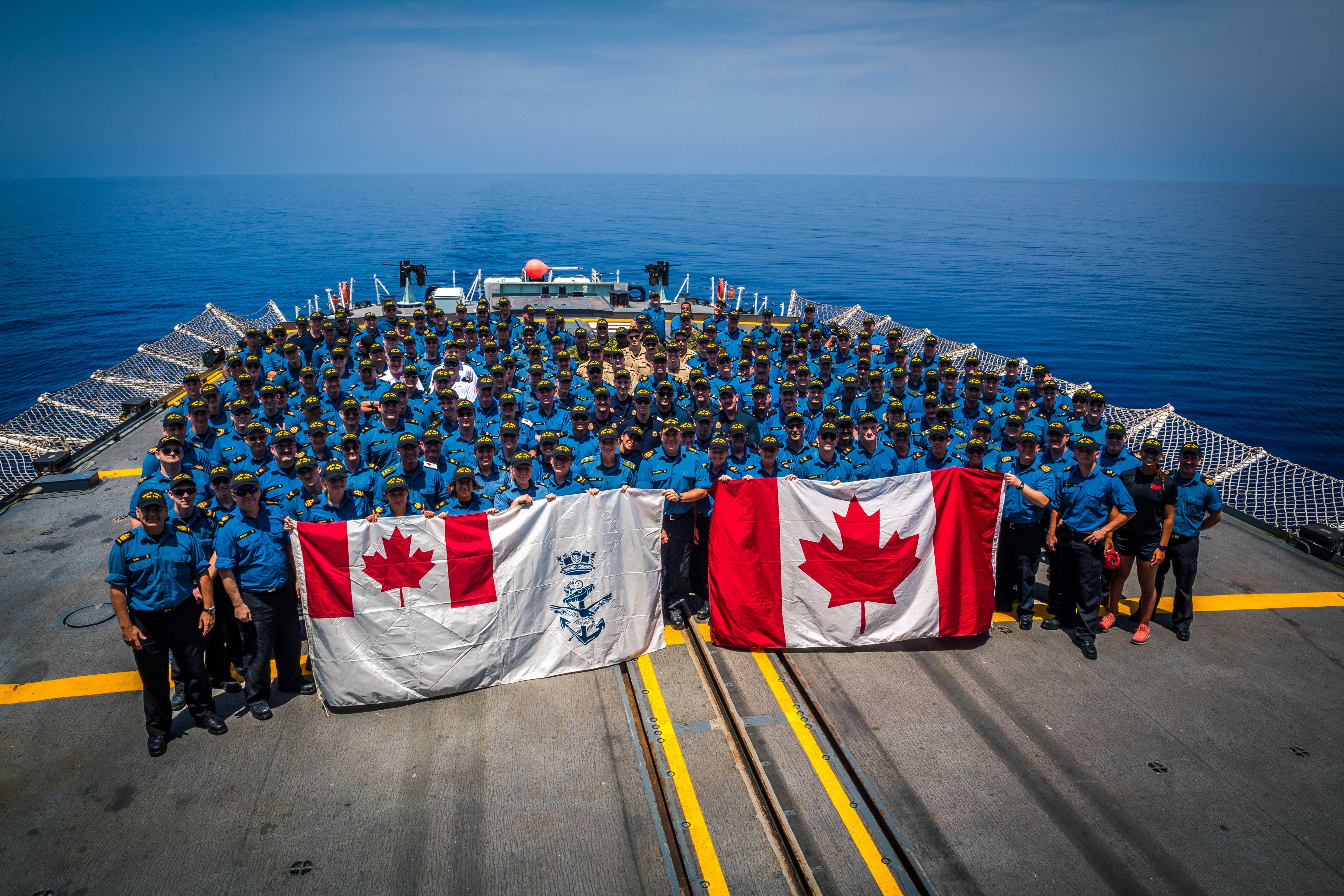 Happy Canada Day from HMCS St. John's