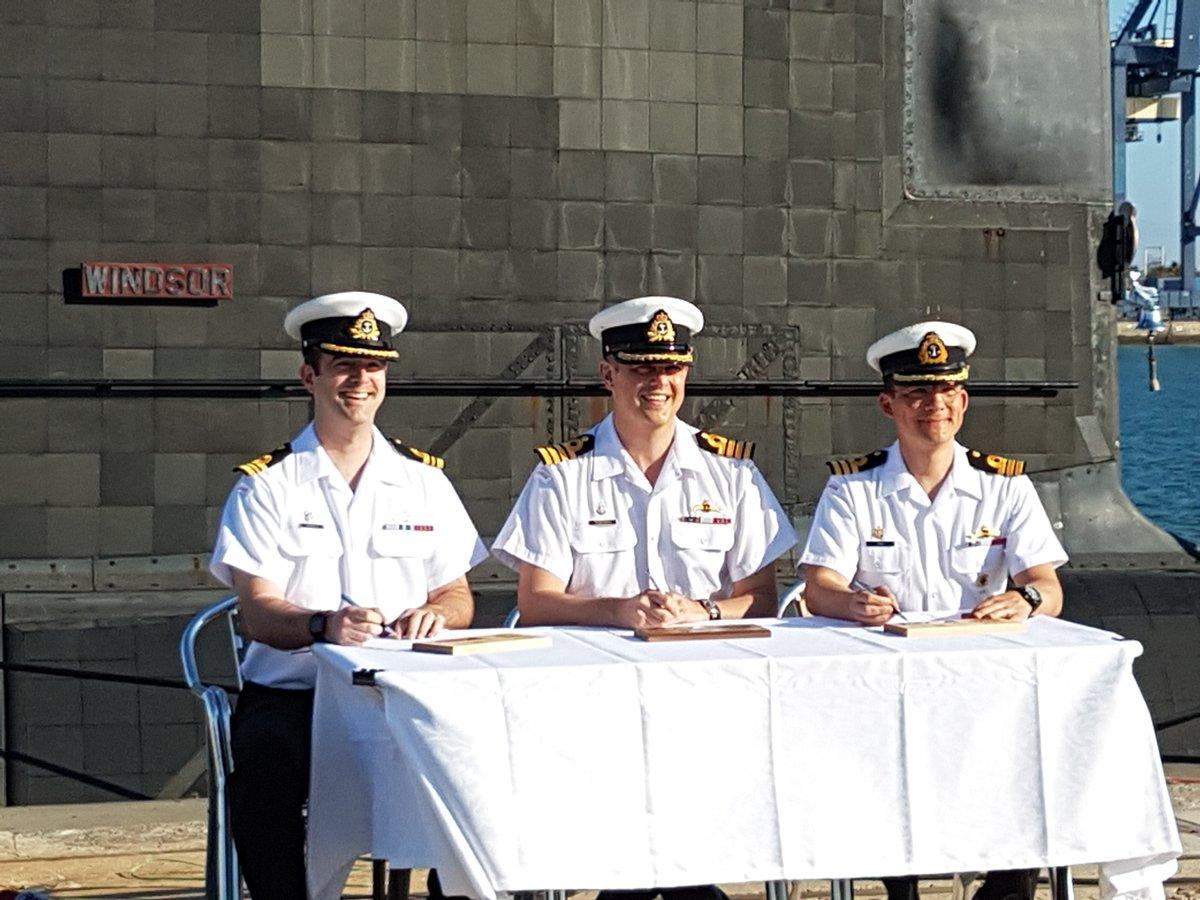 HMCS Windsor Change of Command