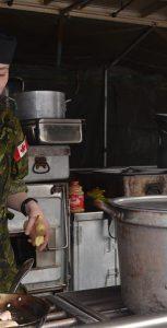 Cpl l Ivy Hawco of 37 Service Battalion in action during Exercise SAFFRON 2018 at Royal Artillery Park, Halifax, on March 24, 2018.  Photo: CAPT FELIX ODARTEY-WELLINGTON, 36 CANADIAN BRIGADE GROUP PA