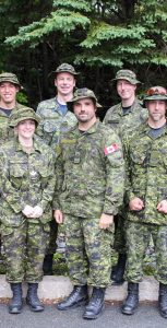 The team of marchers who will be representing MARLANT at the 2018 International Four Days Marches Nijmegen from July 17-20. RYAN MELANSON, TRIDENT STAFF
