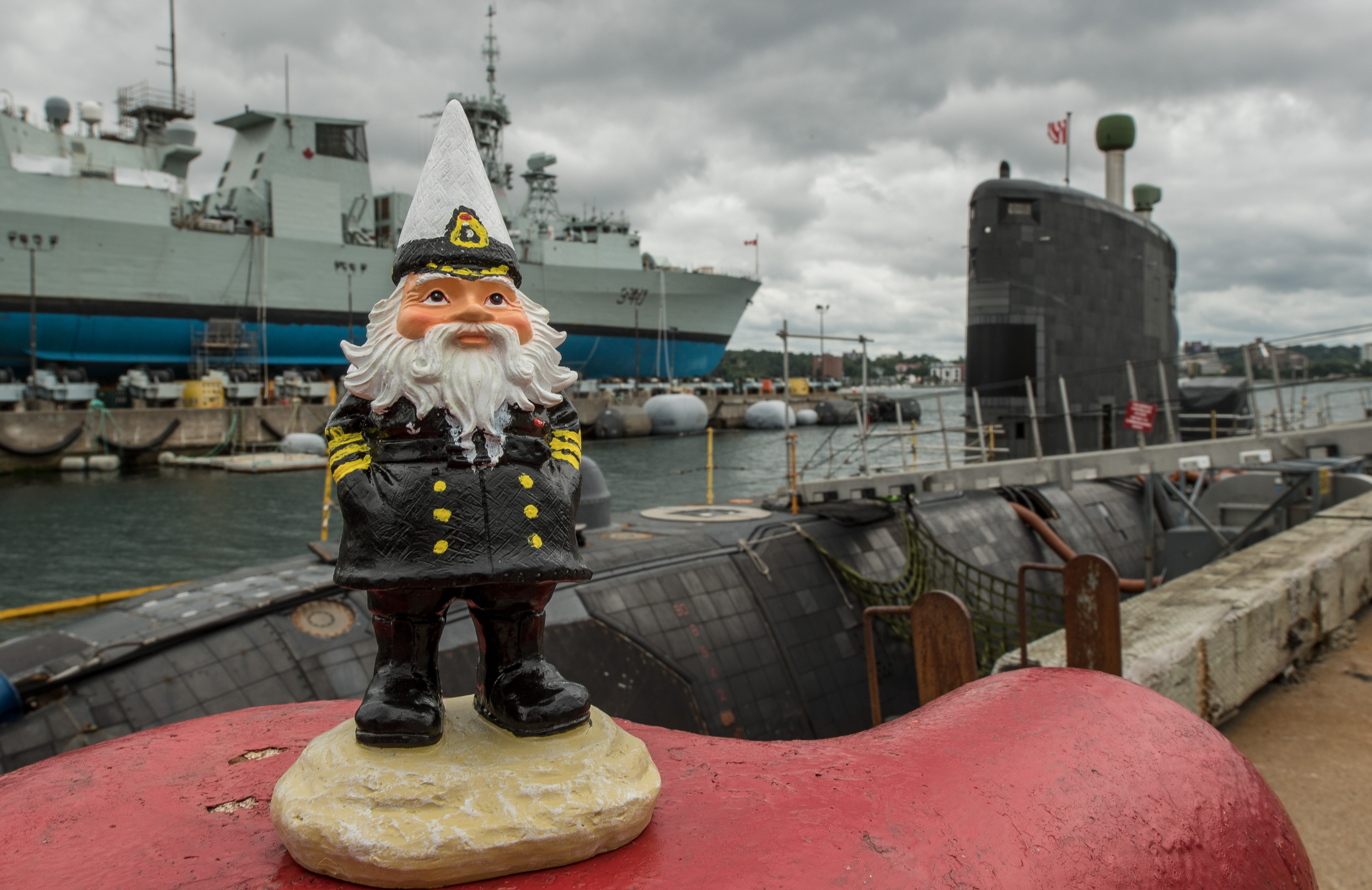 Gnaval Gnome visits Halifax