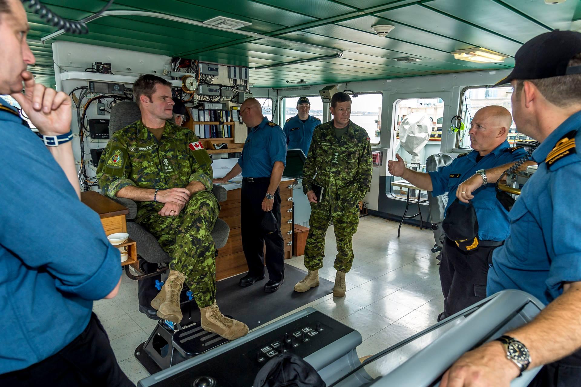 CJOC Commander visits Formation Halifax