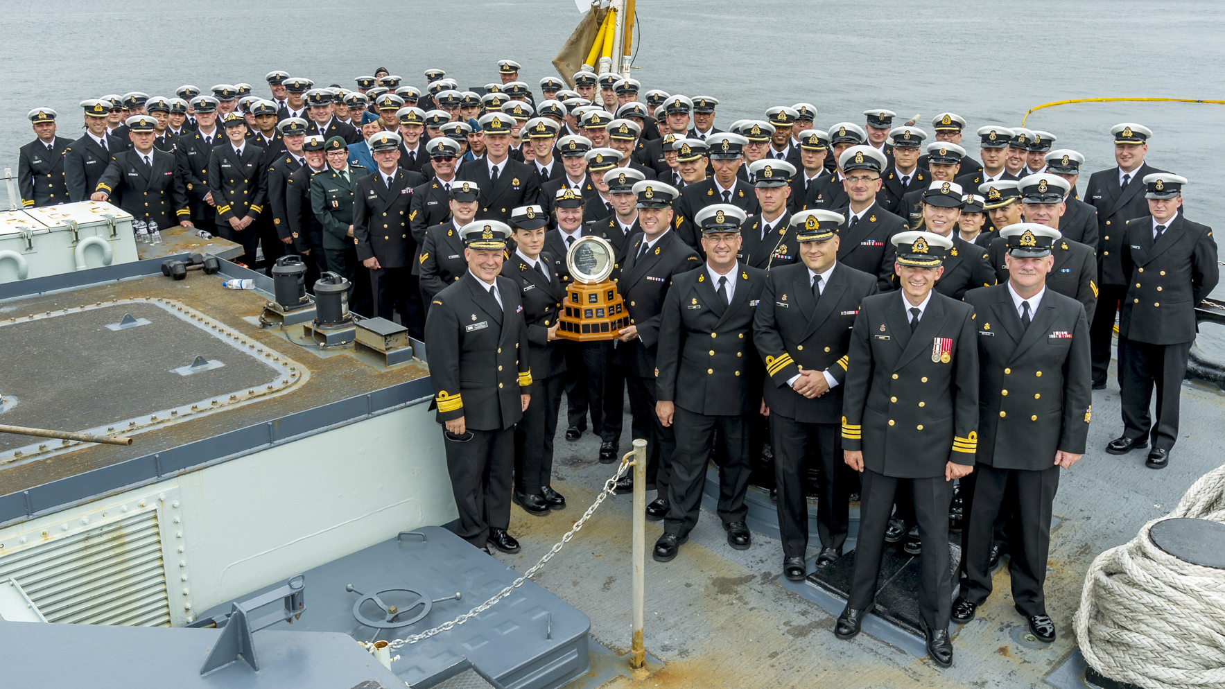 HMCS Charlottetown wins Admiral's Cup