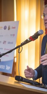 Sportsnet hockey analyst and former NHL head coach and general manager Doug MacLean was the keynote speaker at the 16th Annual CFB Halifax Sports Recognition Breakfast on October 16. FIS