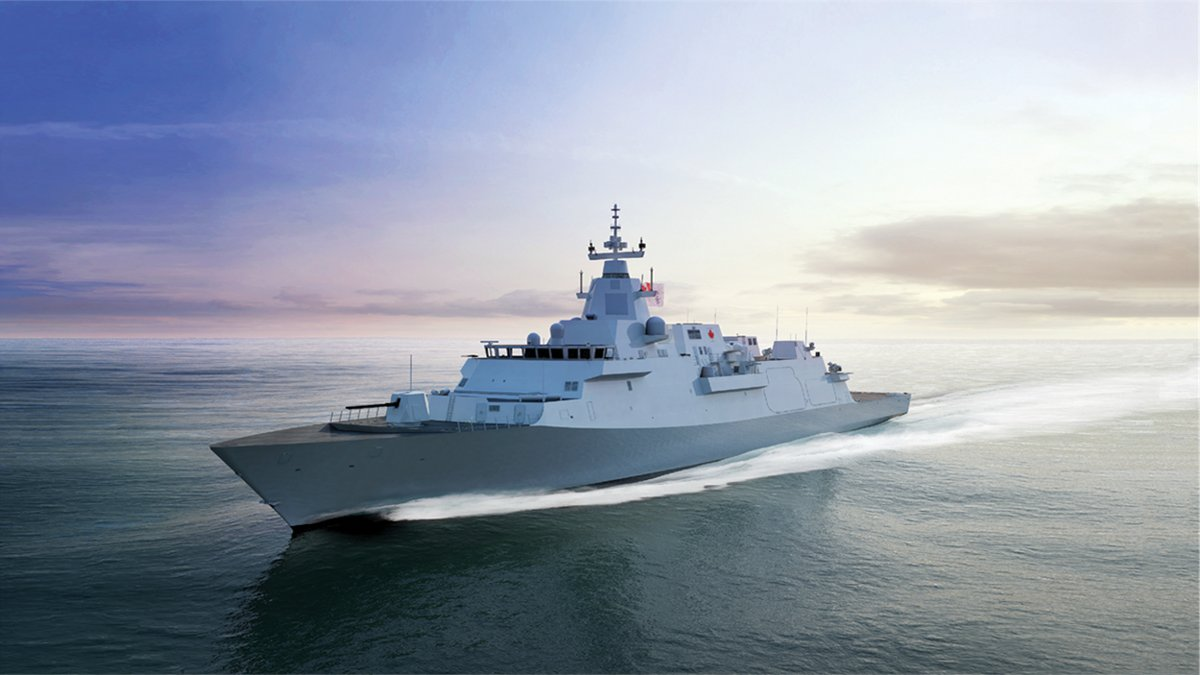Canadian Surface Combatant design selected