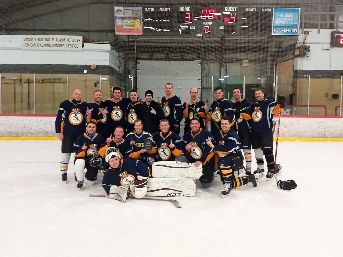 HMCS Halifax are MEGA Hockey champions