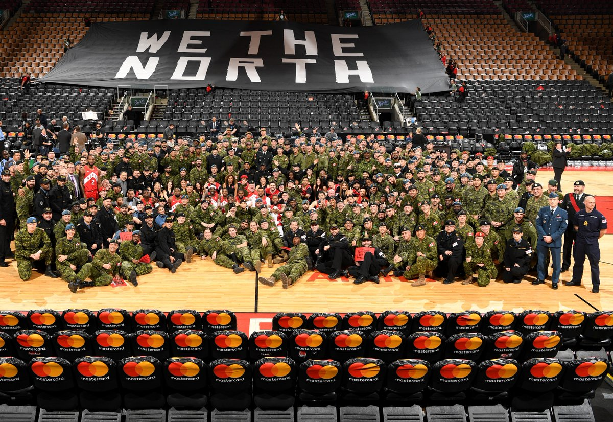 Toronto Raptors host CAF Appreciation Night