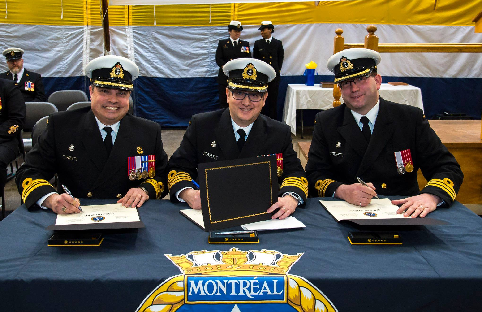 New CO for HMCS Montréal