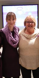 March 26 will be a Purple Day at CFB Halifax thanks to this dedicated sailor. PO1 Charles Bressette (right), Purple Day founder Cassidy Megan (left), Lyndsay Bressette and Epilepsy Association of Nova Scotia (EANS) Executive Director Debbie Tobin at the 2018 EANS Purple Day Gala.  PHOTO SUBMITTED