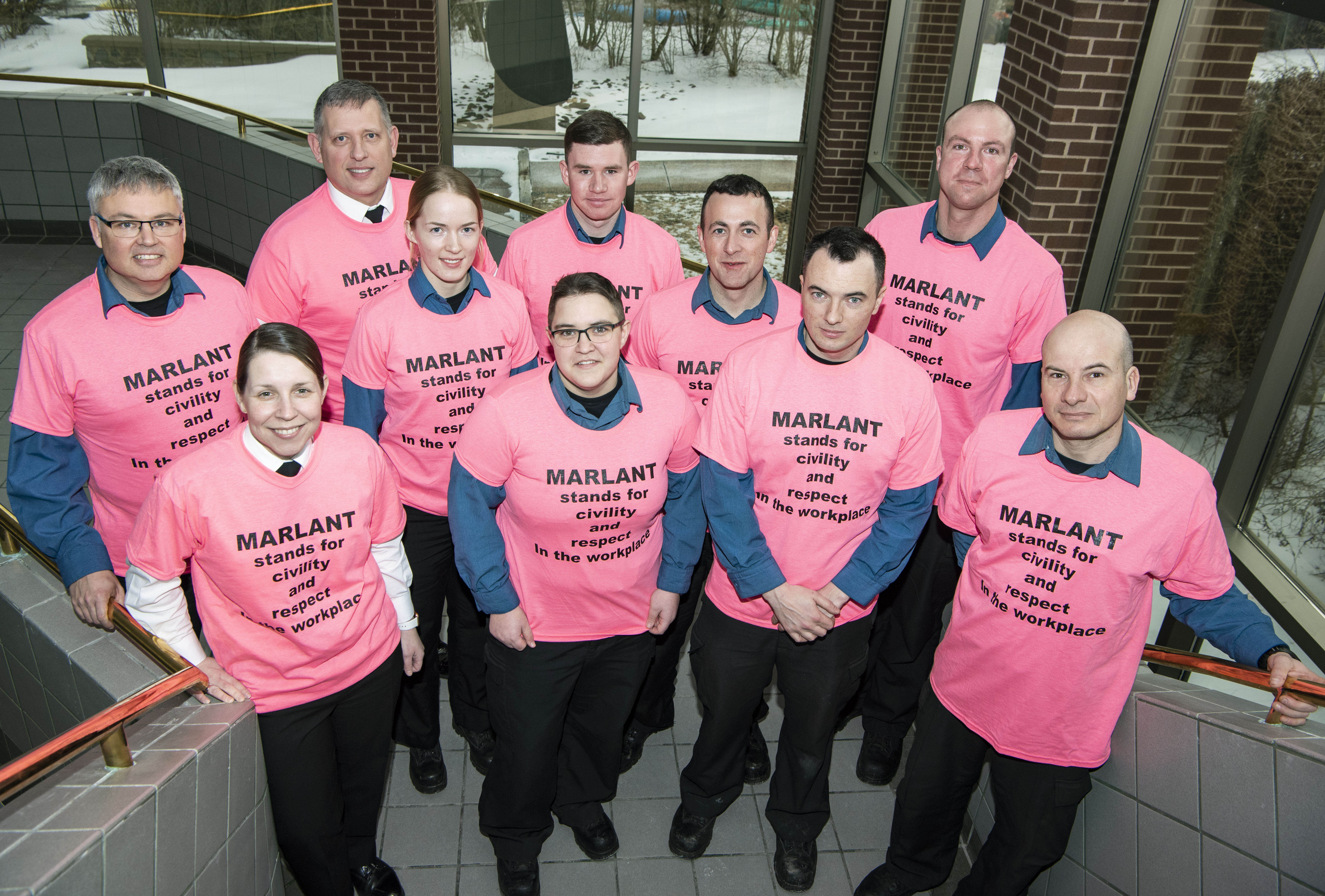 MARLANT celebrates Pink Shirt Day