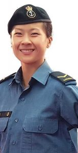AB Yvette Yong, a Naval Communicator with HMCS York, has been named the CISM Military Female Athlete of the Year for 2018. DND