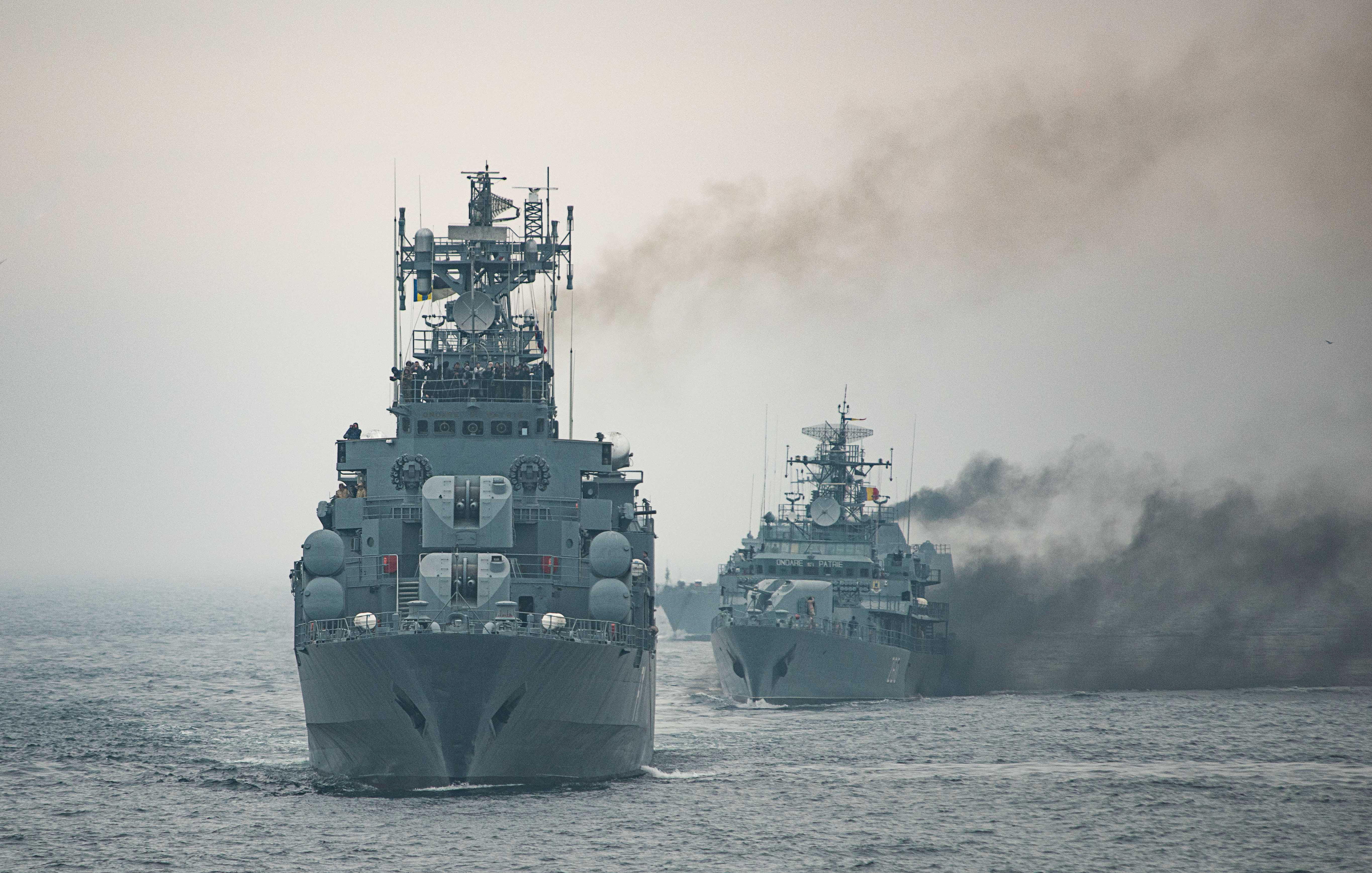 Working with allies in the Black Sea