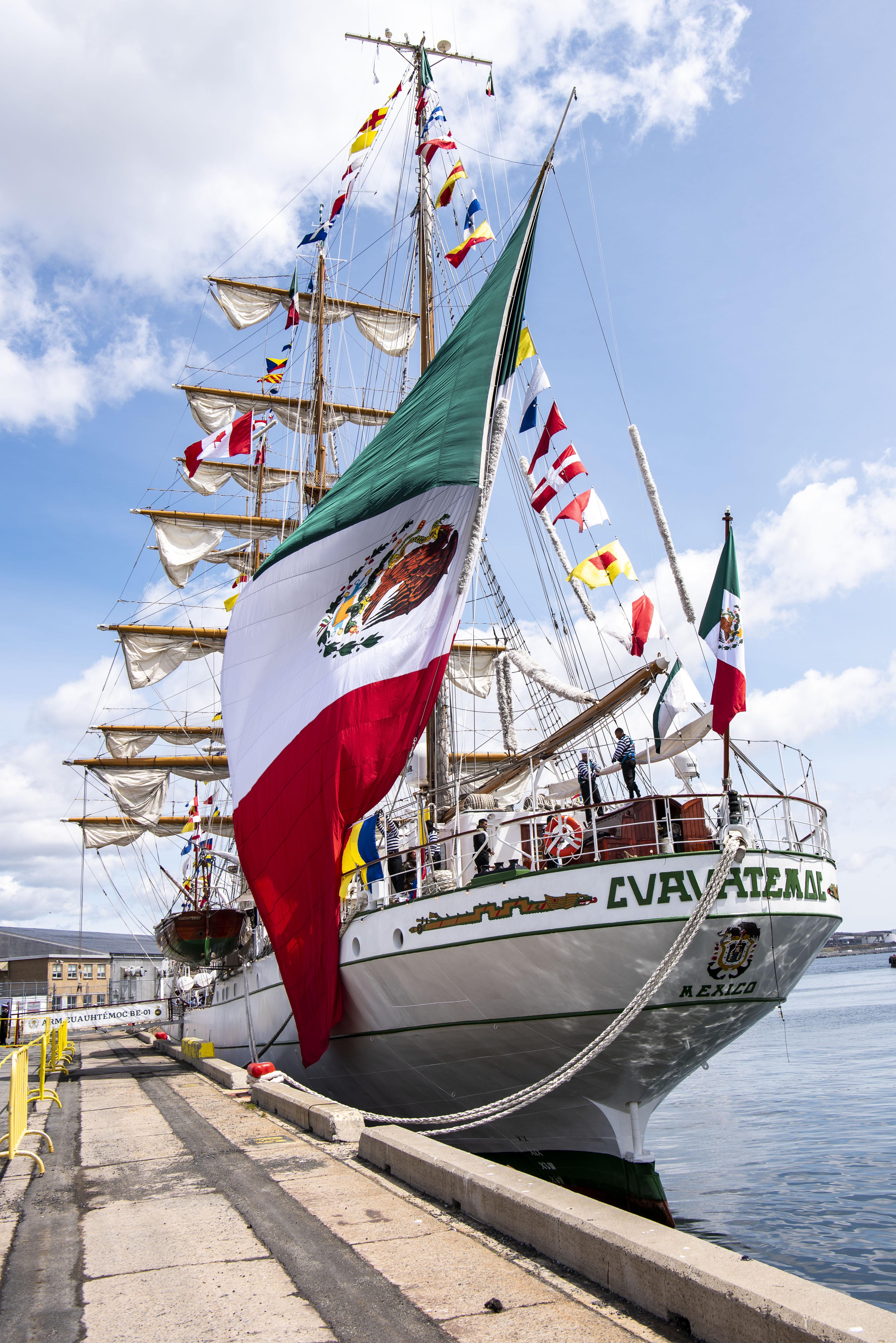 Mexican Navy Tall Ship visits Halifax