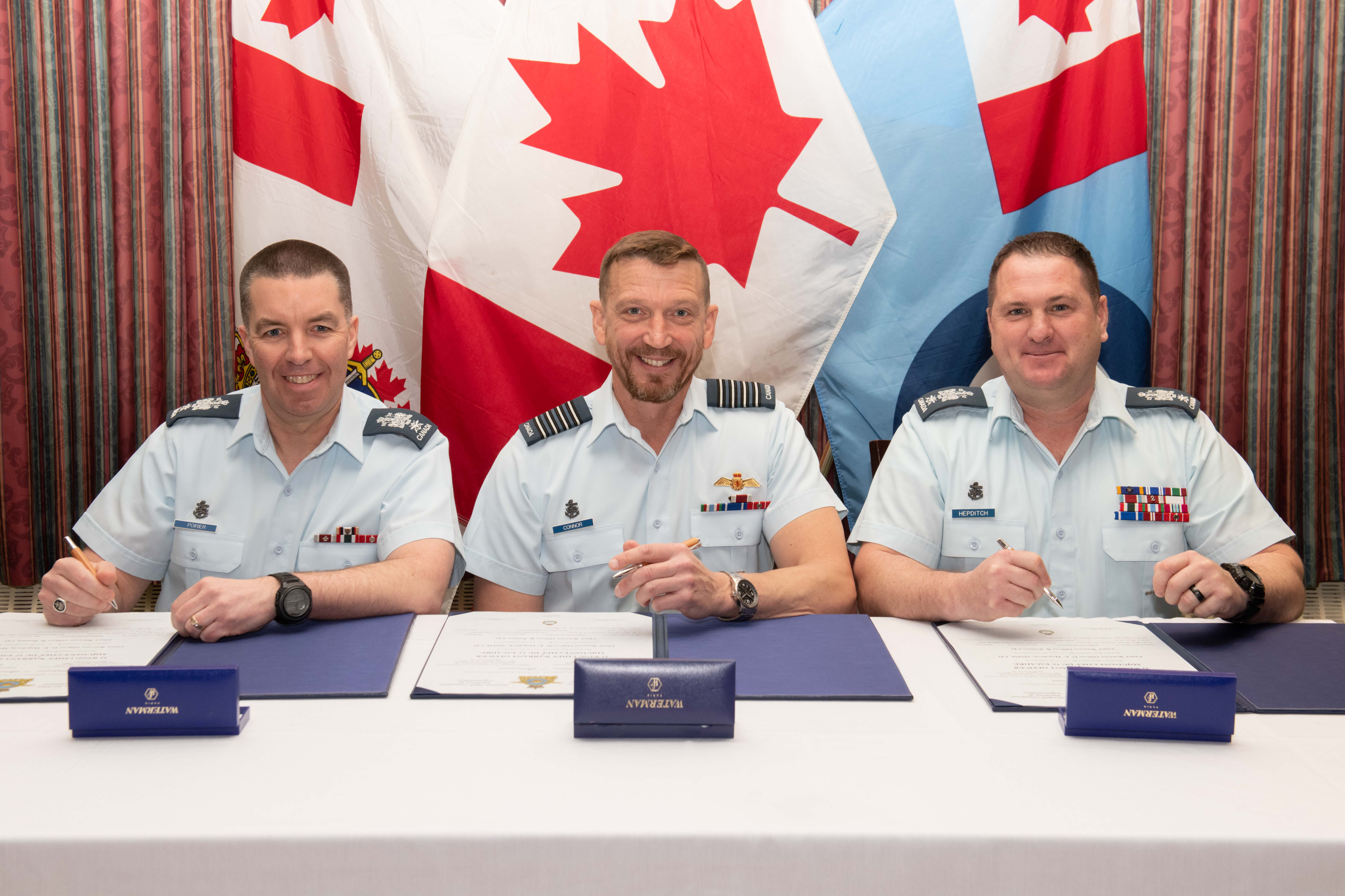 New CWO for 12 Wing Shearwater