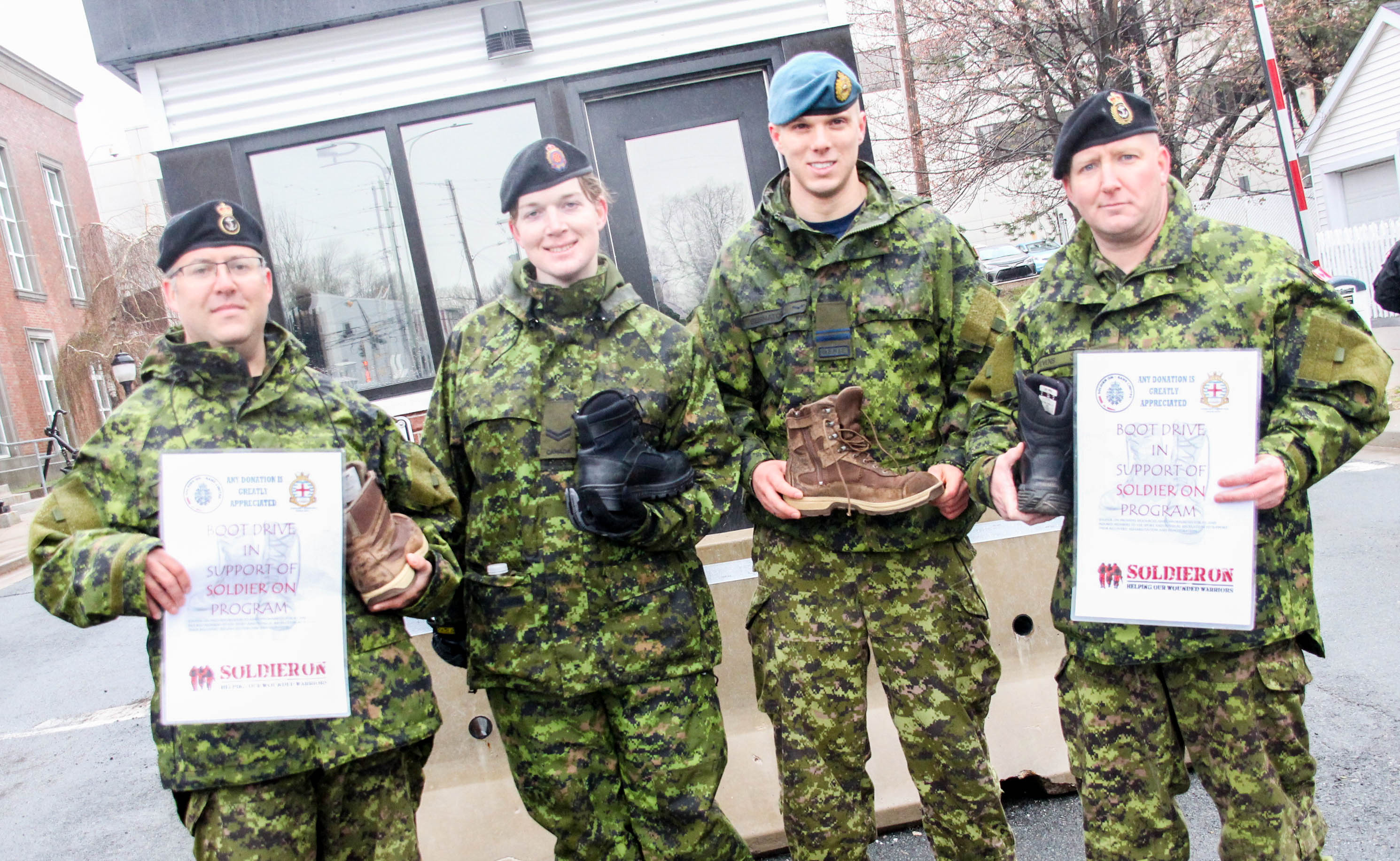 Nijmegen boot drive supports Soldier On