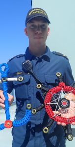 AB Kieran Sidle, a boatswain in NRU Asterix, became interested I rope work during his QL3 training. SUBMITTED