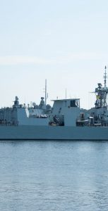HMCS Halifax departed Halifax on Sunday, July 14, en route to Op REASSURANCE for the next six months. MONA GHIZ, MARLANT PA