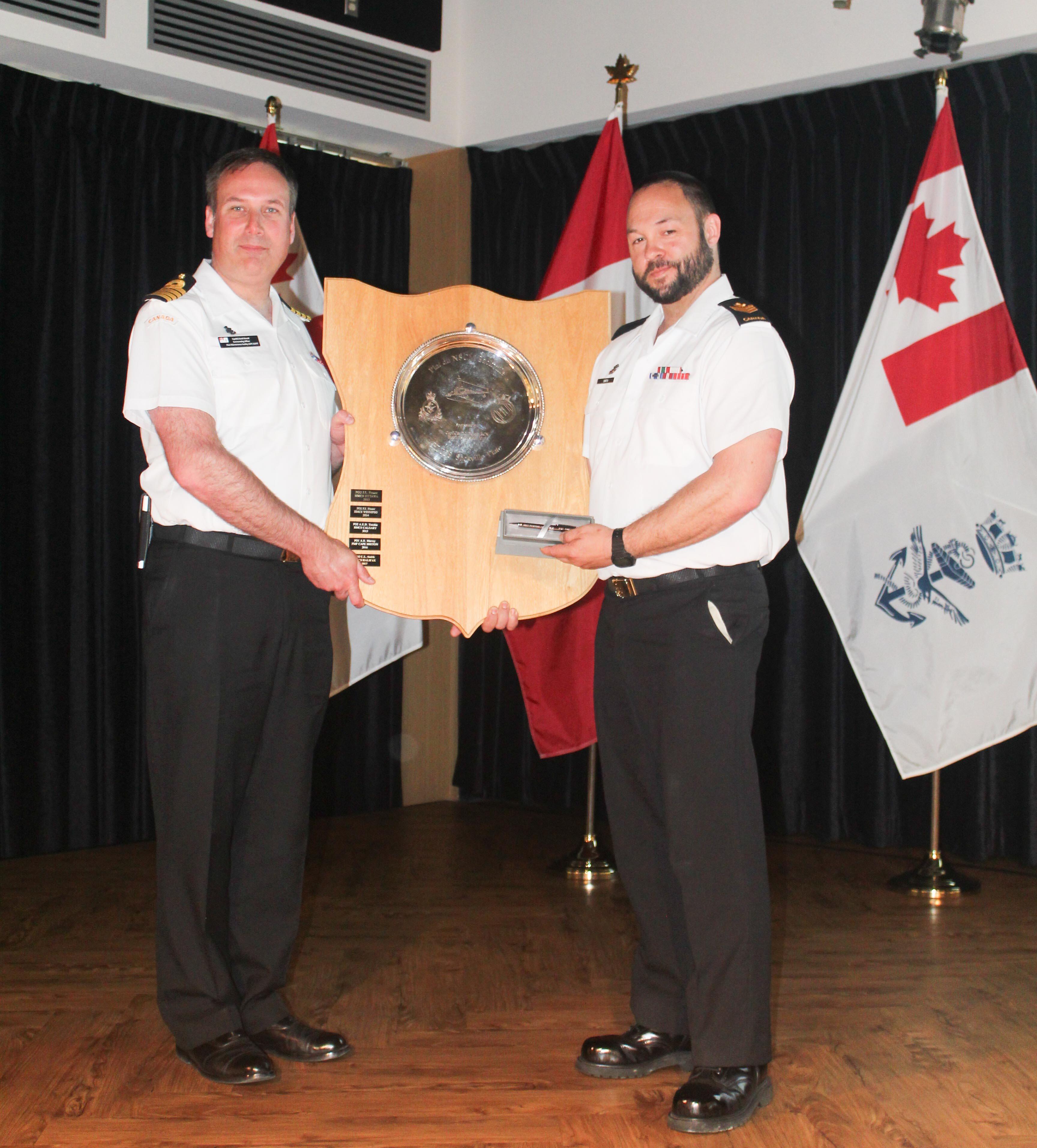 NFS(A) sailor receives HMCS Sackville award