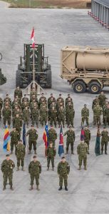 Enhanced Forward Presence, Latvia R10, Canada NSE Group Photo. SUBMITTED