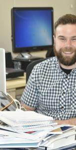 Trident reporter Ryan Melanson. CFB HALIFAX PUBLIC AFFAIRS
