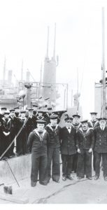 Crews of CC1 and CC2, 1914-1918.  NAVAL MUSEUM OF HALIFAX