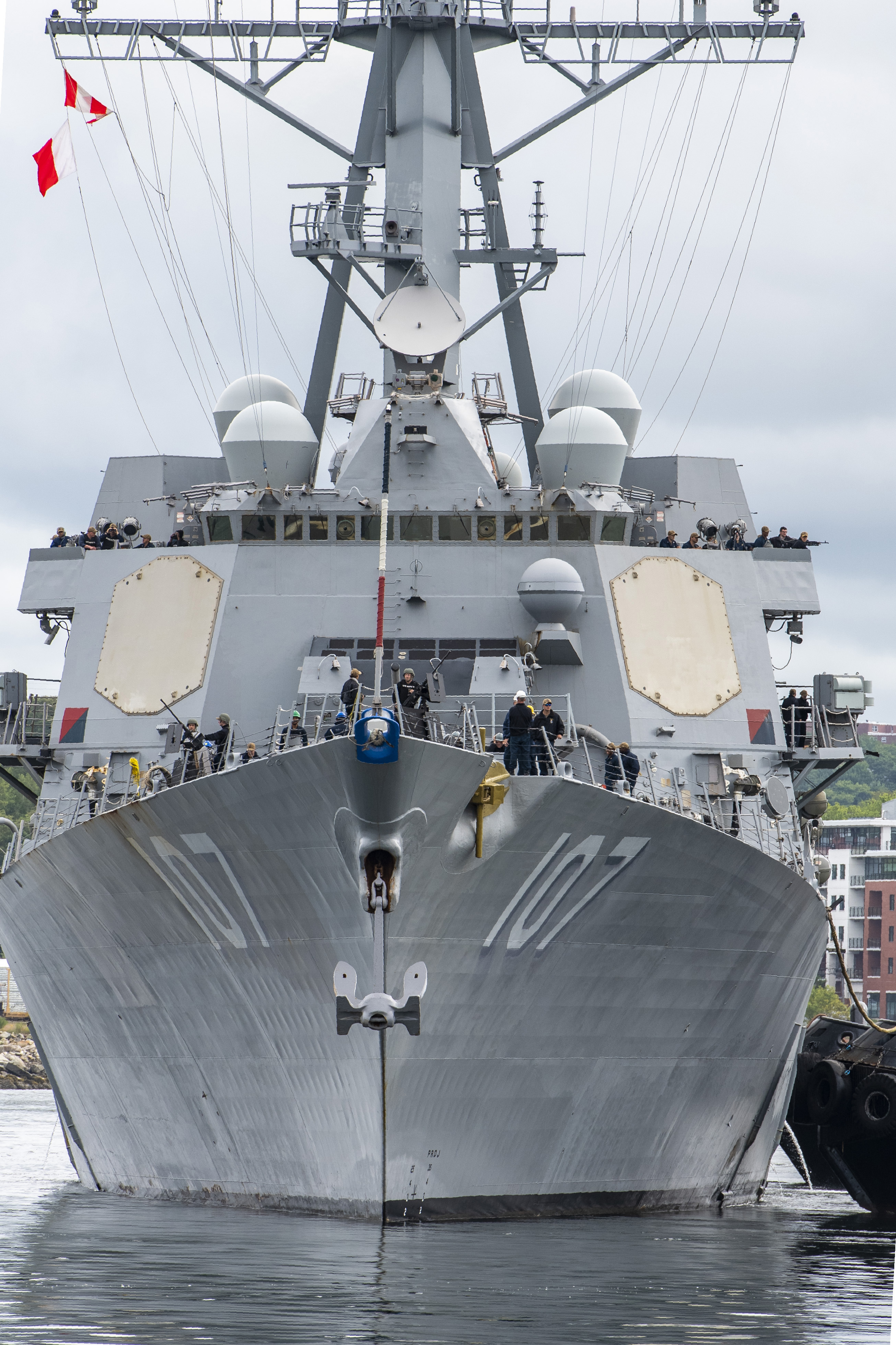 USS Gravely stops in Halifax