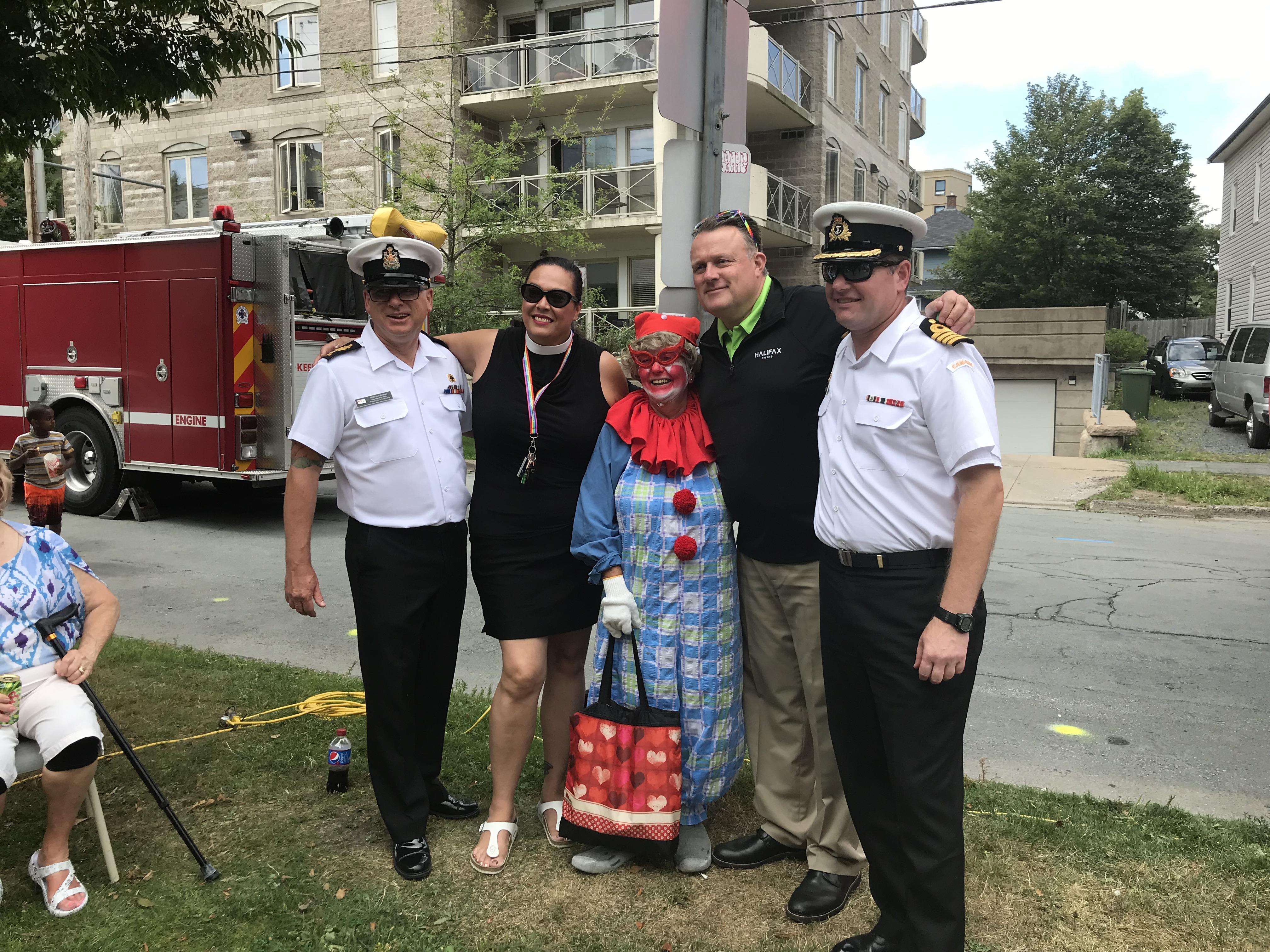 CFB Halifax at Ward 5 block party