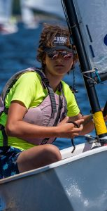 At age 13, Heidi Maier has participated in the CF Sailing Association Junior Program for eight years. SUBMITTED