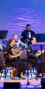 The Stadacona Band kicked off their Beary Merry Christmas tour at the Rebecca Cohn Theatre in Halifax on November 25. FIS
