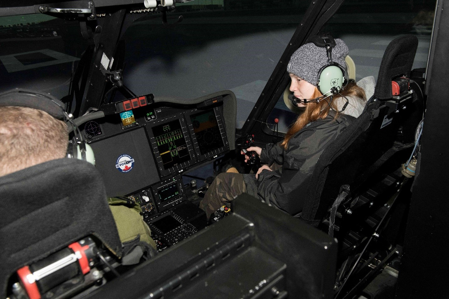 Co-op students visit 12 Wing