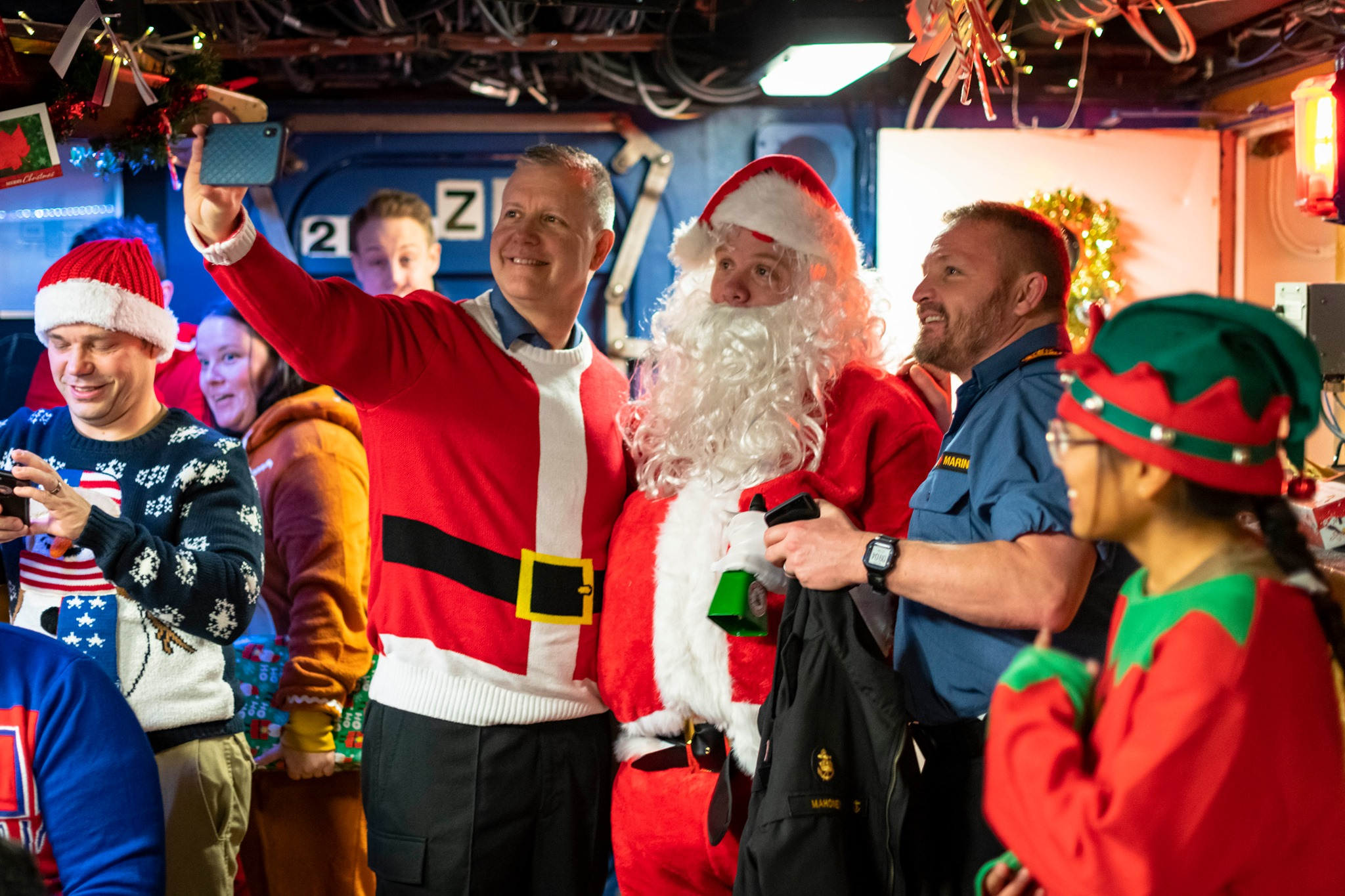 Christmas at sea in HMCS Halifax