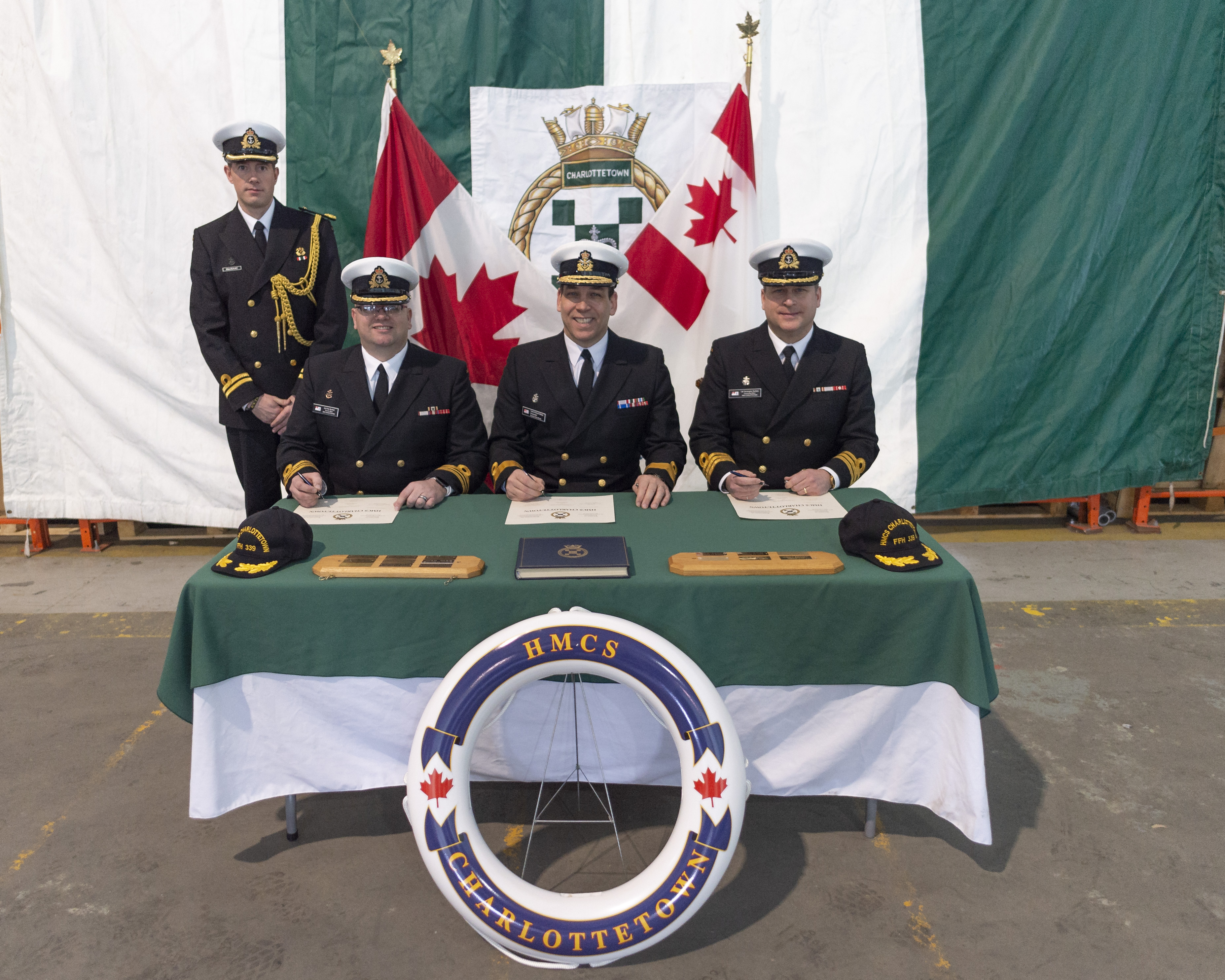 New CO for HMCS Charlottetown