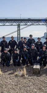 Sixteen sailors graduated from a Naval Boarding Party course in Halifax on February 20. This was the first course taught by Naval Tactical Operations group instructors on the east coast. LS JOHN IGLESIAS, FIS