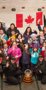 Members of the 2nd Bedford Girl Guide unit visited HMCS St.John's on March 4, ahead of International Women's Day, to tour the ship and learn about opportunities for women in the Royal Canadian Navy and CAF. CPL CHERYL CLARK, FIS