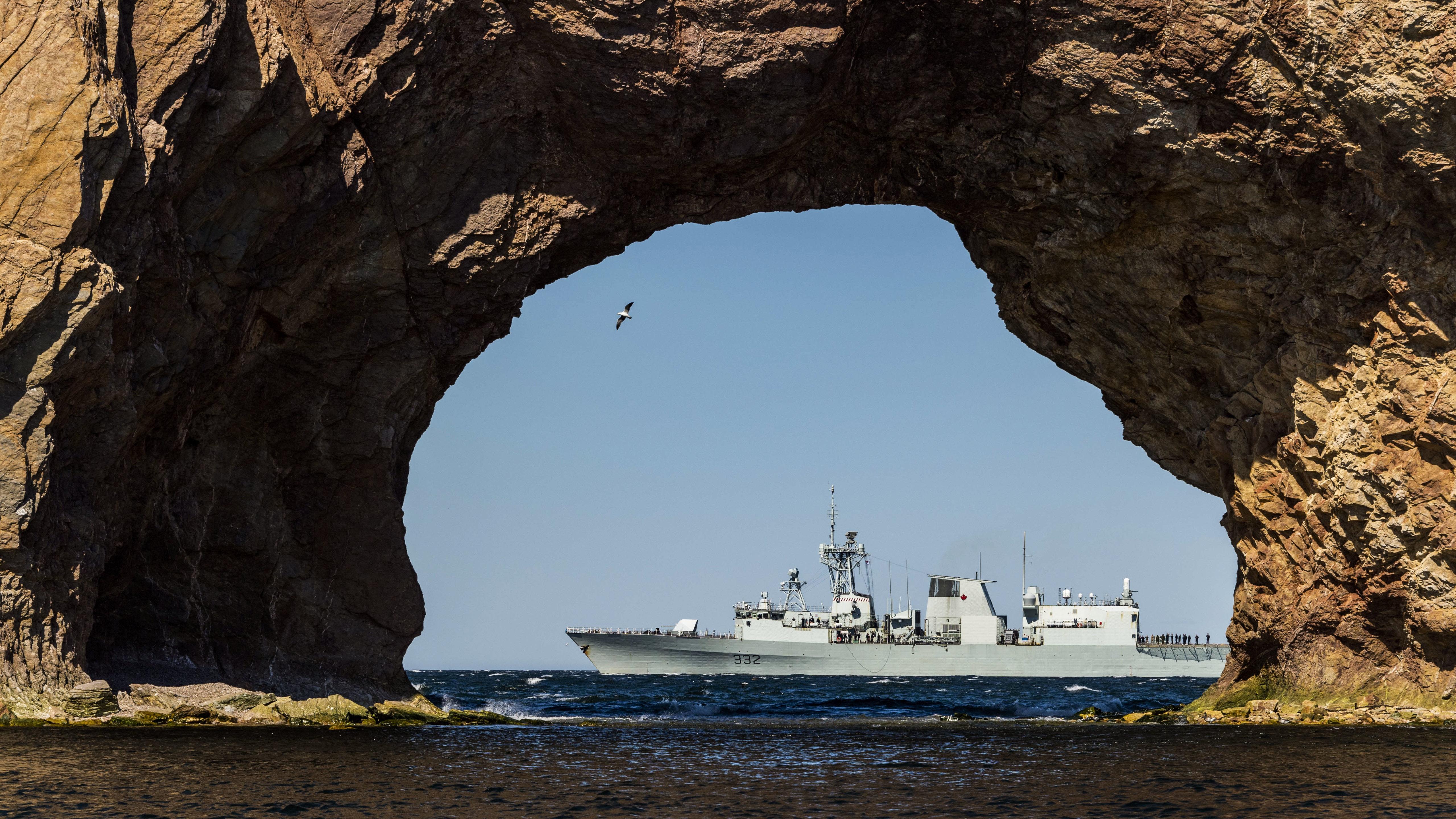 HMCS Ville de Québec stays ready