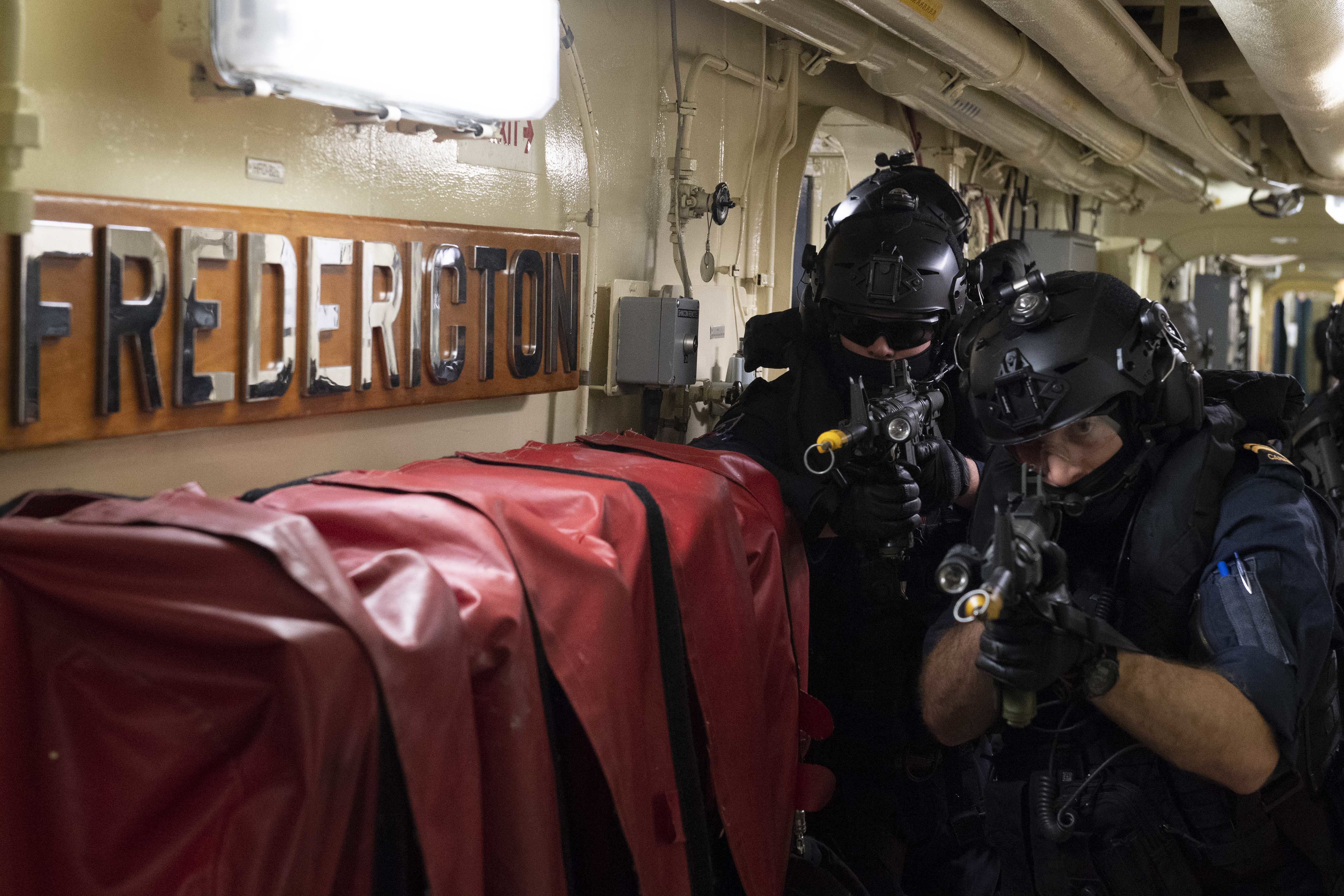 NBP exercise at sea