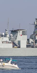 HMCS Toronto departed Halifax for a six-month deployment to Operation REASSURANCE on July 25, 2020. MARLANT PA