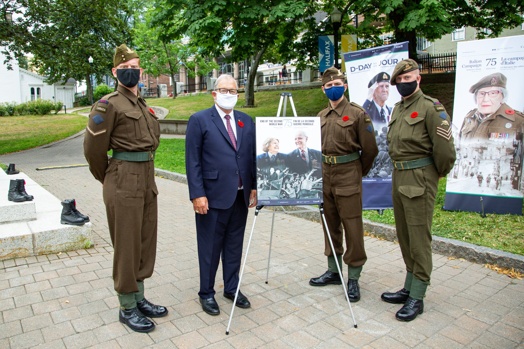 V-J Day 75th anniversary commemorated in Halifax