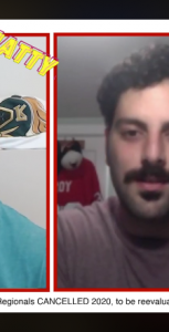 A screen shot from the PSP Halifax Sport Cell podcast and video talk show, where Isaac Habib and Matt MacKenzie break down news and highlights from the sports world each week. SUBMITTED